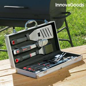 Valigetta di Utensili da Barbecue Professionale InnovaGoods (11 pezzi)