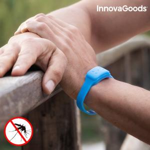 Bracciale Antizanzare alla Citronella InnovaGoods - Colore: Azzurro