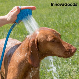 Spazzola con Pompa per Animali Domestici InnovaGoods