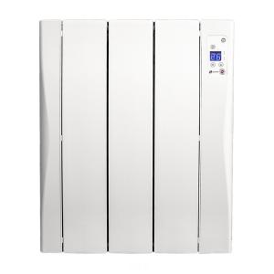 Radiatore Elettrico Digitale a Secco (3 elementi) Haverland WI3 450W Bianco