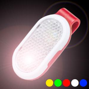 Molletta Riflettente LED 145680 - Colore: Rosso