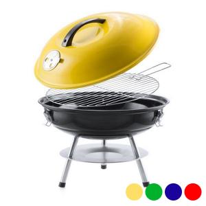 Barbecue Portatile (Ø 36 cm) 144504 - Colore: Rosso