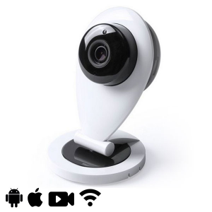 Videocamera di Sorveglianza HD WIFI 145321 - Colore: Bianco