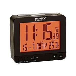 Orologio Sveglia Daewoo DBF120 - Colore: Nero