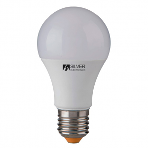 Lampadina LED Sferica Silver Electronics 980927 E27 10W Luce calda - Selezionare la sua opzione: 5000K
