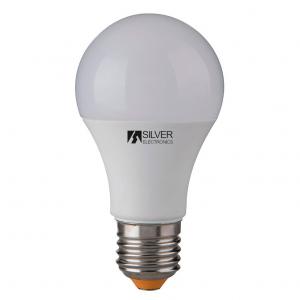 Lampadina LED Sferica Silver Electronics 980927 E27 10W Luce calda - Selezionare la sua opzione: 3000K