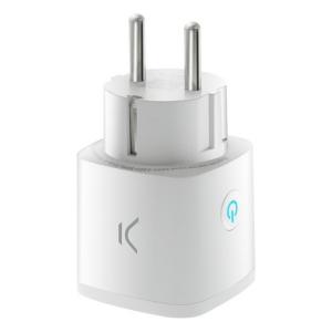 Presa Intelligente KSIX Smart Energy Mini WIFI 250V Bianco