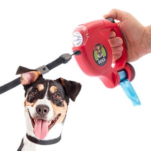 Guinzaglio per Cani con LED e Buste 5 m