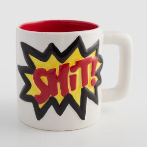 Tazza di Ceramica Slogans - Design: Shit!