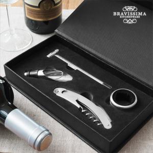 Set di Accessori per il Vino Bravissima Kitchen (4 pezzi)