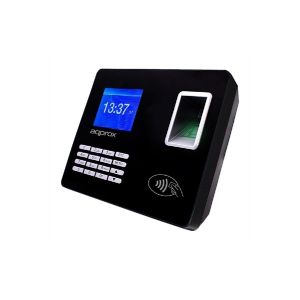 Sistema di Controllo di Accesso Biometrico approx! APPATTENDANCE02 2,8 TFT USB LAN Nero