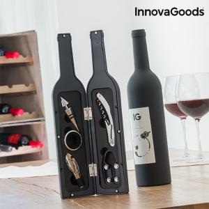 Astuccio a Bottiglia per Utensili Vino InnovaGoods (5 Pezzi)