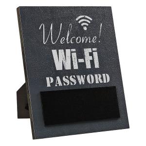 Insegna Wifi Grigio 118218