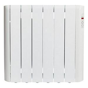Radiatore Elettrico Digitale a Fluido (6 elementi) Haverland RCE6S 900W Bianco