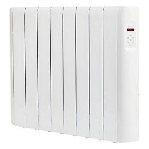 Radiatore Elettrico Digitale a Fluido (8 elementi) Haverland RCE8S 1200W Bianco