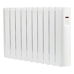 Radiatore Elettrico Digitale Fluido (10 elementi) Haverland RCE10S 1500W Bianco