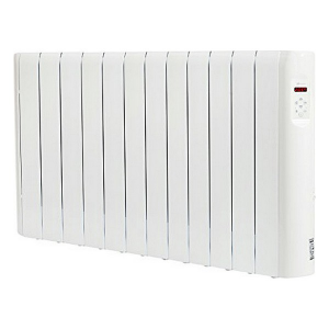 Radiatore Elettrico Digitale Fluido (12 elementi) Haverland RCE12S 1800W Bianco