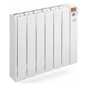Radiatore Elettrico Digitale a Fluido (6 elementi) Cointra 223834 SIENA 1000W 50 Hz LCD Bianco