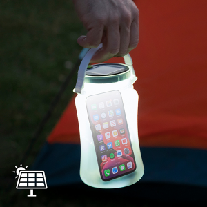 Contenitore con luce a LED in Silicone Partner Adventures