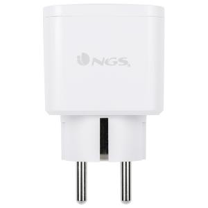 Presa Intelligente NGS Plug Loop WiFi 3680W Bianco
