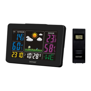 Stazione Meteorologica Multifunzione Denver Electronics WS-540 Nero