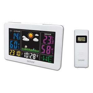 Stazione Meteorologica Multifunzione Denver Electronics WS-540 Bianco