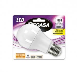 Lampadina LED Sferica Cegasa E27 10,5W A+