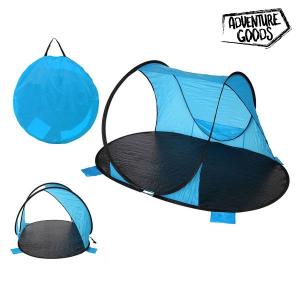 Parabrezza Adventure Goods 25373 (220 x 145 x 110 cm) Azzurro Nero