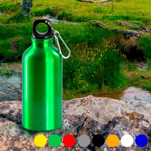 Bottiglia in Alluminio (400 ml) 143384 - Colore: Giallo
