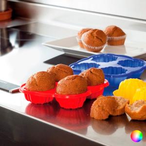 Stampi in Silicone per Cupcake 143986 - Colore: Giallo