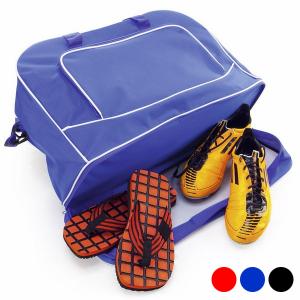Borsa Sportiva con Portascarpe 144054 - Colore: Nero