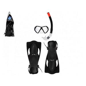 Maschera da Snorkeling con Boccaglio e Pinne - Taglia Calzatura: 40-42