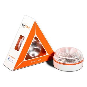Dispositivo di Segnalazione di Emergenza Help-Flash LED IP54 Bianco