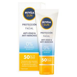 Protezione Solare Viso Nivea SPF 50 (50 ml)