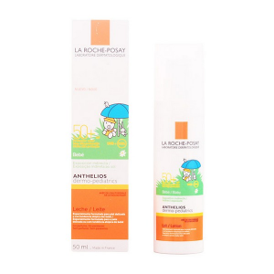 Protezione Solare Per Bambini Anthelios Dermopediatric La Roche Posay Spf 50 (50 ml)