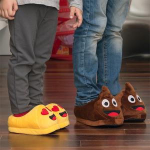 Pantofole per Bambini Emoticon - Design: Wink - Taglia Calzatura: 35-36