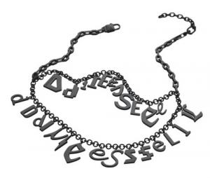 Ciondolo Donna Diesel DX0064040