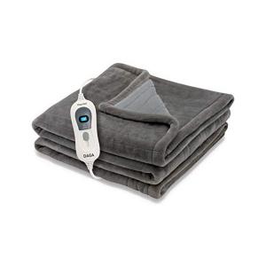 Coperta Elettrica Daga SOFTY FLEECE 150W Marrone (150 x 150 cm)