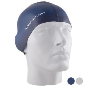 Cuffia da Nuoto Speedo Plain Flat - Colore: Azzurro