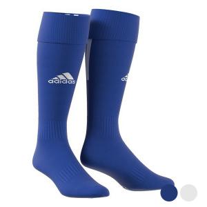 Calze da Calcio per Adulti Adidas Santos - Colore: Azzurro - Taglia Calzatura: 40-42