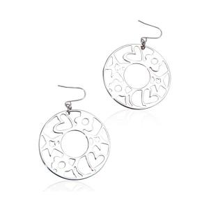 Orecchini Donna in Metallo Laccato Agatha Ruiz De La Prada 147082 - Colore: Argentato