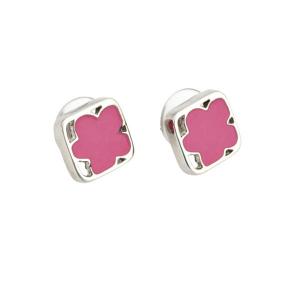 Orecchini Donna con Fiore Smaltato Agatha Ruiz De La Prada 147271 - Colore: Fucsia
