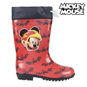 Stivali da pioggia per Bambini Mickey Mouse 73486 Rosso - Taglia Calzatura: 23