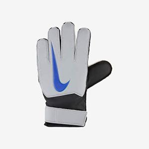 Guanti da Portiere per Bambini Nike GK Match JR FA18 Bianco Azzurro - Taglia: 4