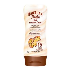 Lozione Solare Silk Hawaiian Tropic - Capacità: Spf 15 - 180 ml