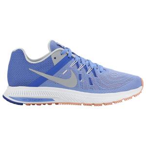Scarpe da Running per Adulti Nike ZOOM WINFLO 2 Azzurro Grigio - Taglia Calzatura: 6,5