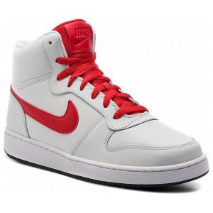 Scarpe da Basket per Adulti Nike Ebernon Mid Bianco Rosso - Taglia Calzatura: 44,5