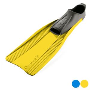 Pinne da Snorkel Cressi-Sub Clio - Colore: Azzurro - Taglia Calzatura: 45-46
