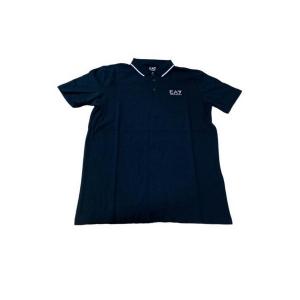 Polo a Maniche Corte Uomo Armani Jeans 3GPF51 Blu marino - Taglia: L