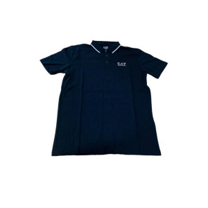 Polo a Maniche Corte Uomo Armani Jeans 3GPF51 Blu marino - Taglia: M